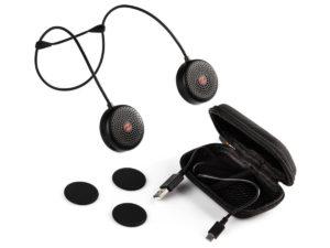zulu alpha wearable speakers included