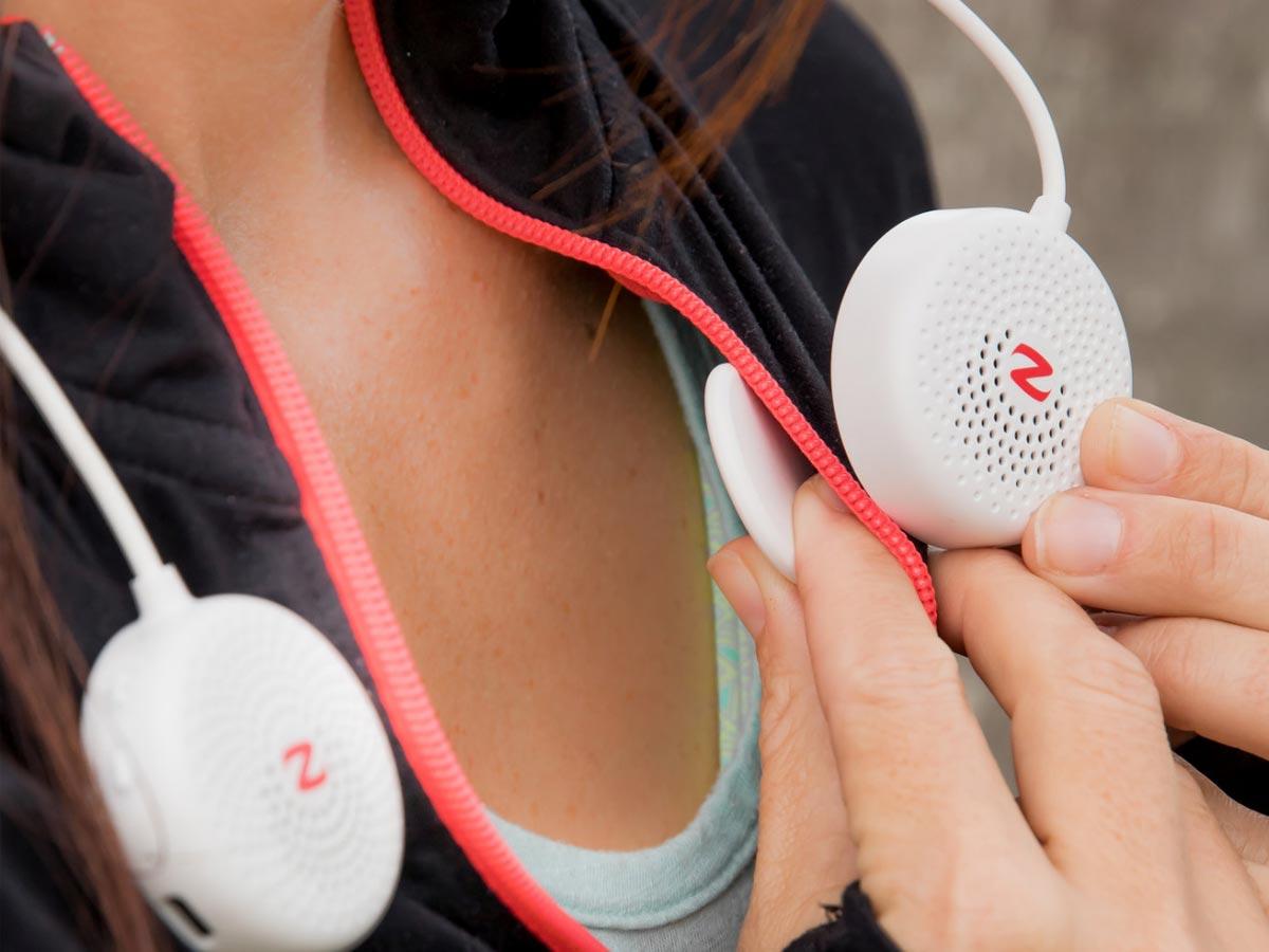 zulu alpha wearable speakers magnets